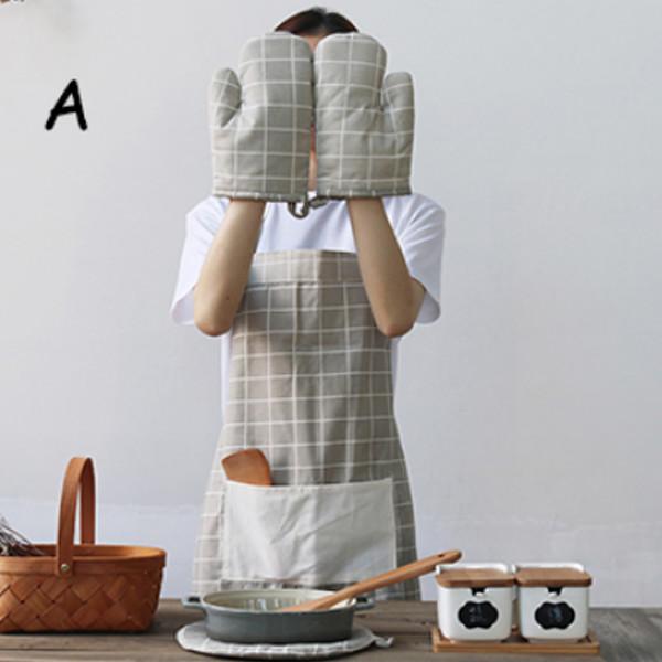 Apron 4Pc Kitchen Set A