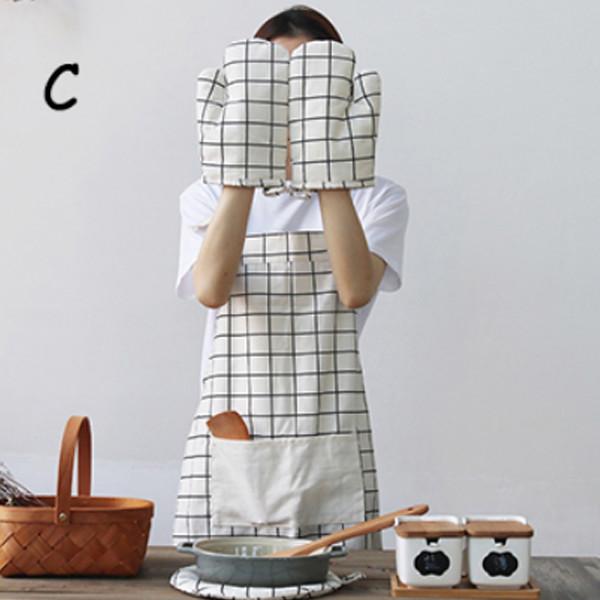 Apron 4Pc Kitchen Set C