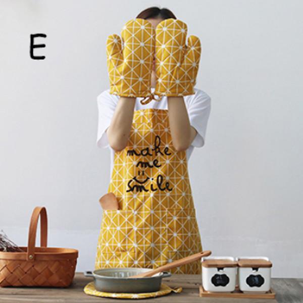 Apron 4Pc Kitchen Set E