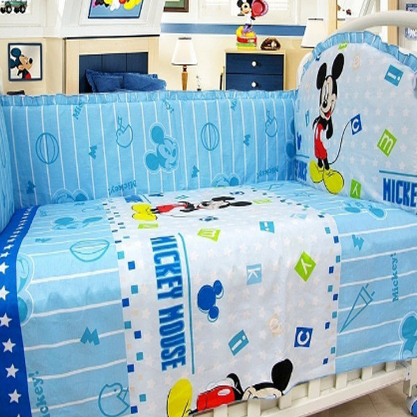Baby Mickey Mouse Bedding 1
