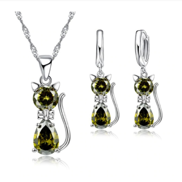 Cat Necklace Set 5