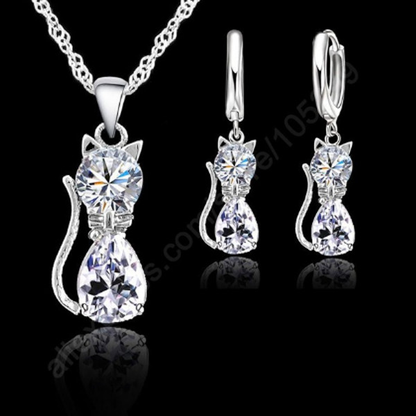 Cat Necklace Set
