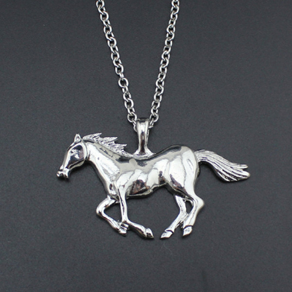 Horse Running Necklace 2