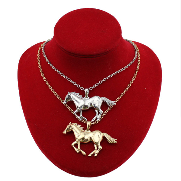 Horse Running Necklace 4