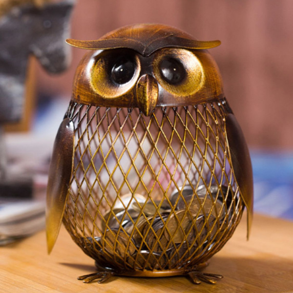 Owl Piggy Bank 3