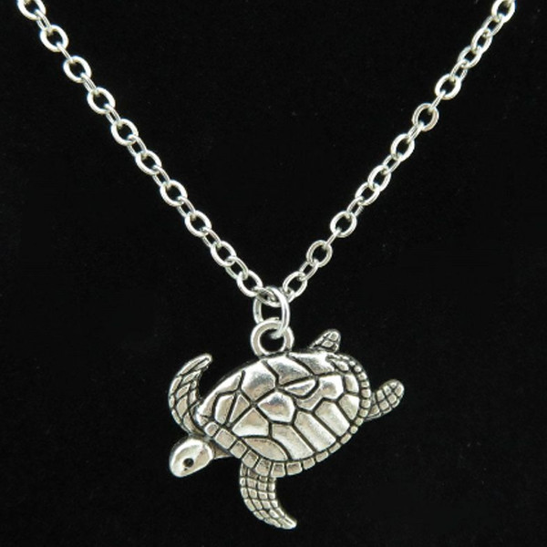 Tortoise Turtle Necklace 2