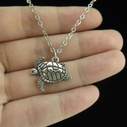 Tortoise Turtle Necklace