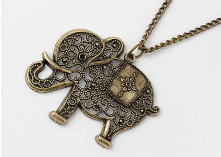 Elephant Vintage Necklace
