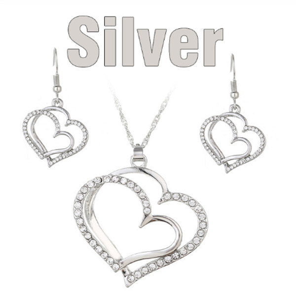 Double Heart Necklace 1