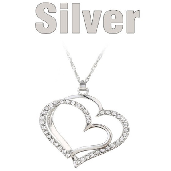 Double Heart Necklace 3