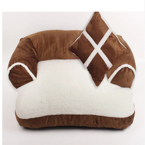 Dog Bed with Pillow 1