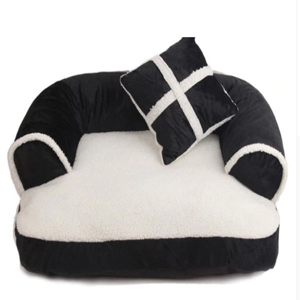 Dog Bed with Pillow