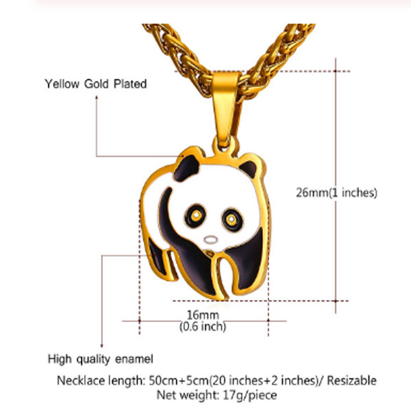 Panda Necklace 4 1