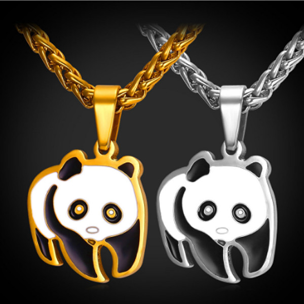Panda Necklace 4