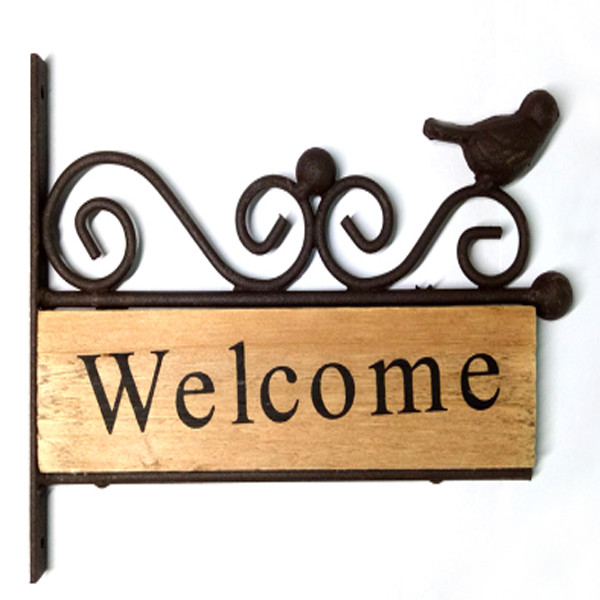 Bird Welcome Sign 1