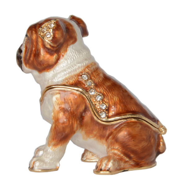 Bulldog Trinket Box 2