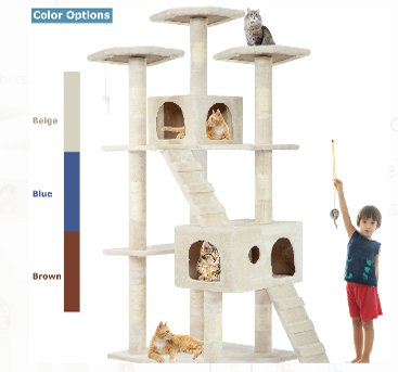 Cat Tree Condo WalmartA