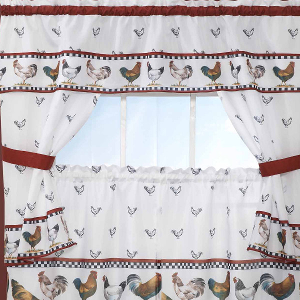 Rooster Curtains