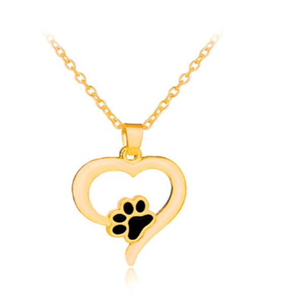 Heart Paw Necklace 1