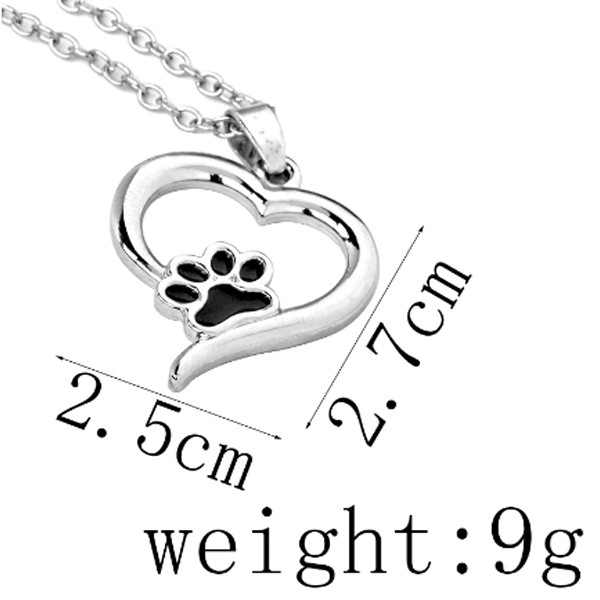 Heart Paw Necklace 2