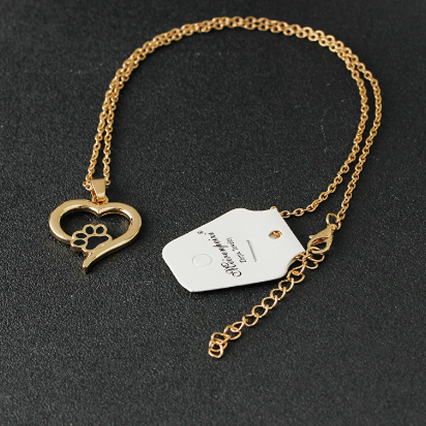 Heart Paw Necklace 3