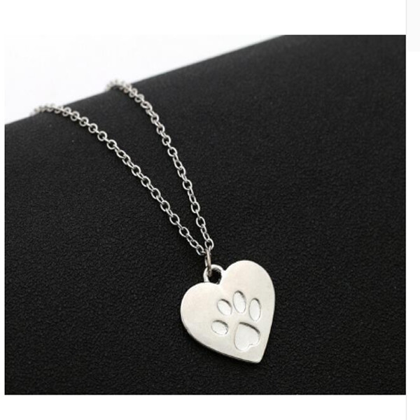 Paw Print Necklace 2