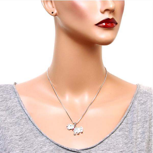 Dalmatian Dog Necklace 1