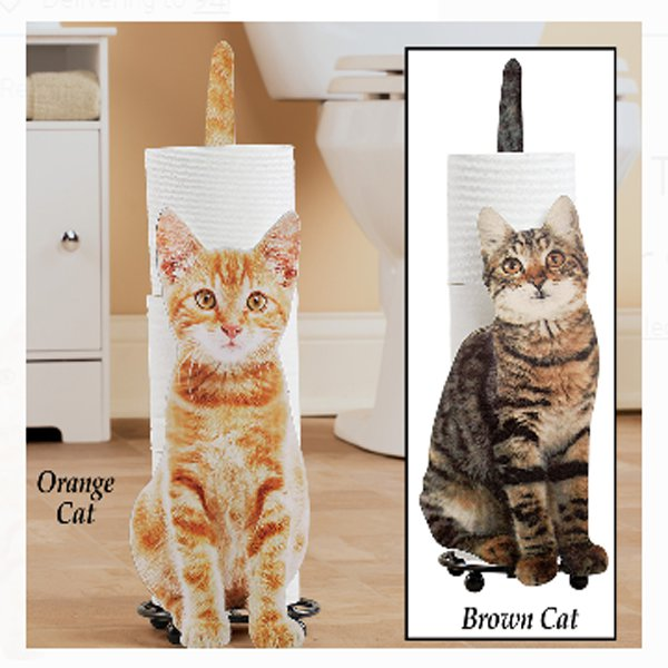 Cat Toilet Paper Holder 1