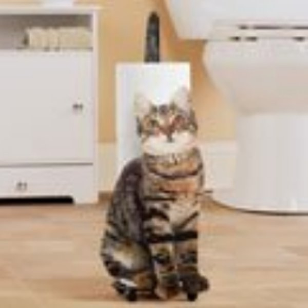 Cat Toilet Paper Holder 3