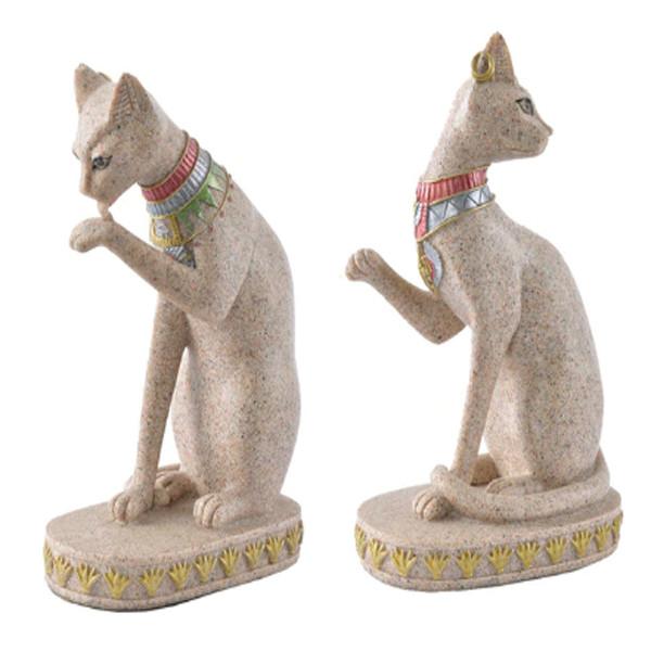 Cat Vintage Statue 2