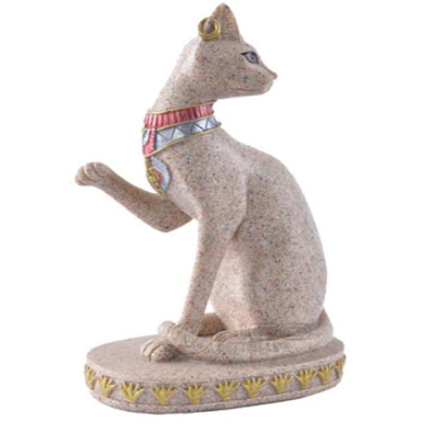 Cat Vintage Statue 3
