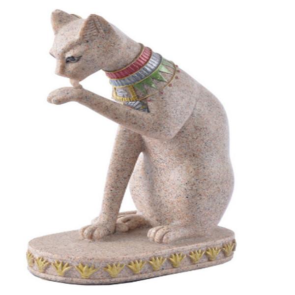 Cat Vintage Statue