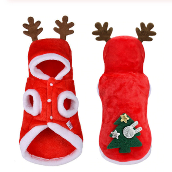 Christmas Cat Dog Santa Hoodie 3