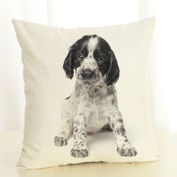 Dog Throw Pillow Cover 8