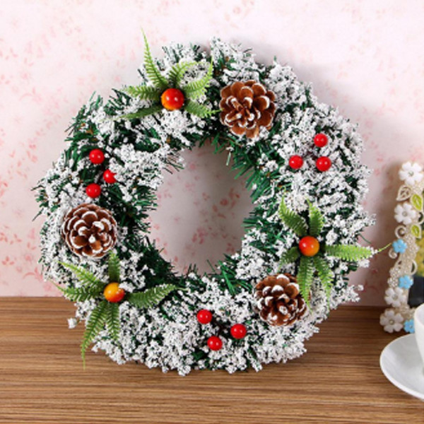 Christmas Door Wreath 1