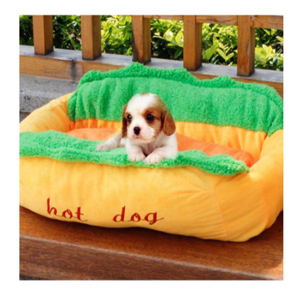 Dog Cat Hotdog Bed 5