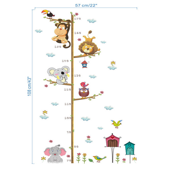 Animal Height Chart 4