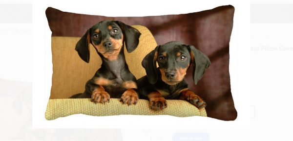 Dachshund Cushion Cover 2