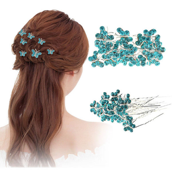 Butterfly Hair Pins 11