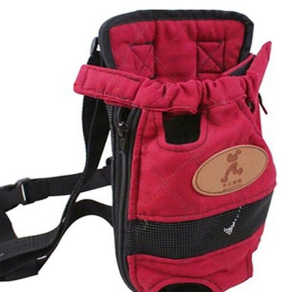Dog Canvas Carrier Backpack 1