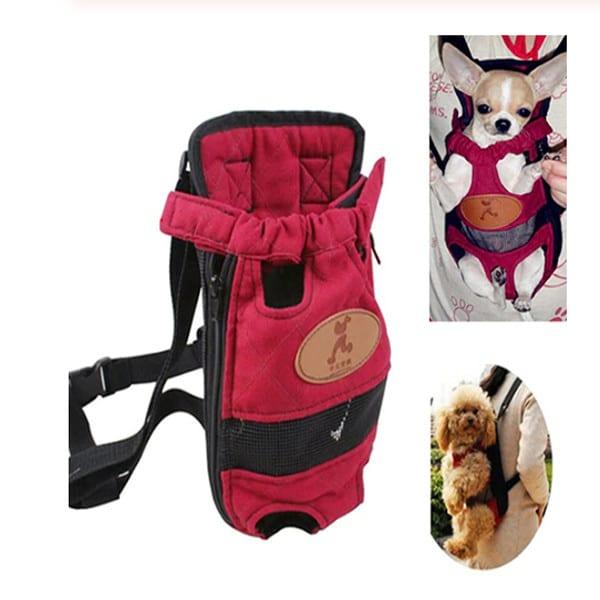 Dog Canvas Carrier Backpack