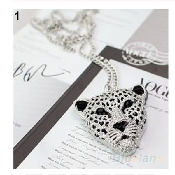 Leopard Head Necklace 1