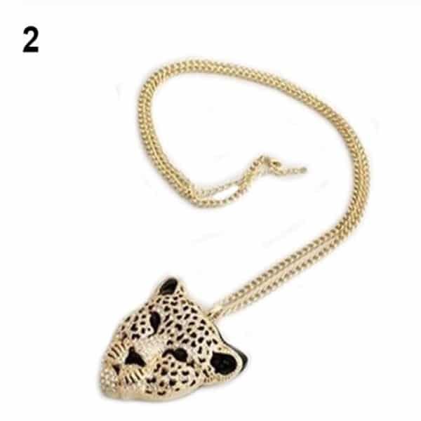 Leopard Head Necklace 2