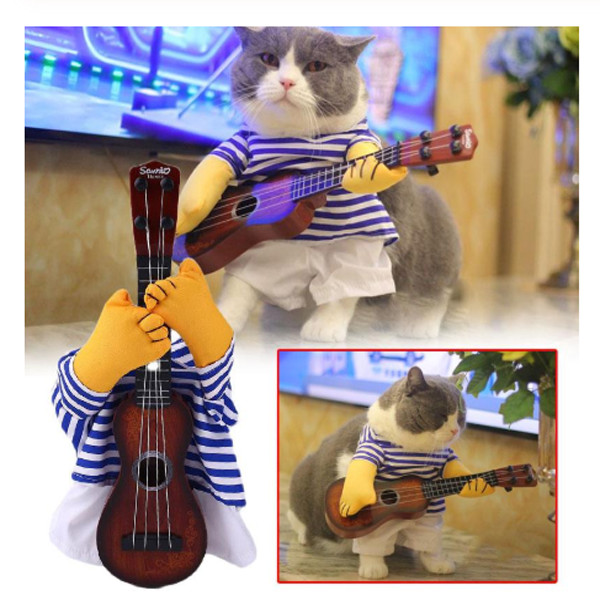 Pet Guitar Costume