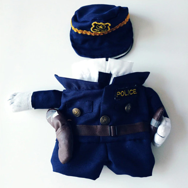 Pet Police Costume 1