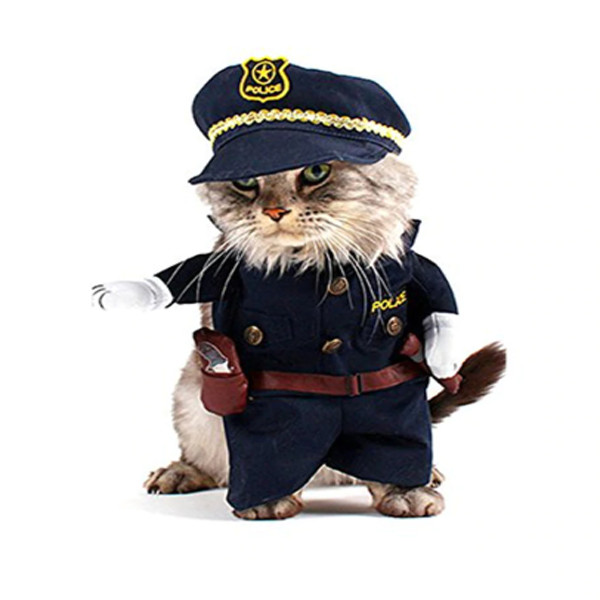 Pet Police Costume