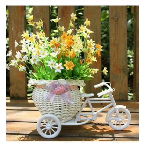 Tricycle Flower Basket 1