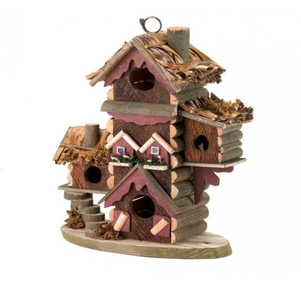 Birdhouse Gingerbread Style 1