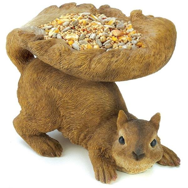 Squirrel Bird Feeder 1