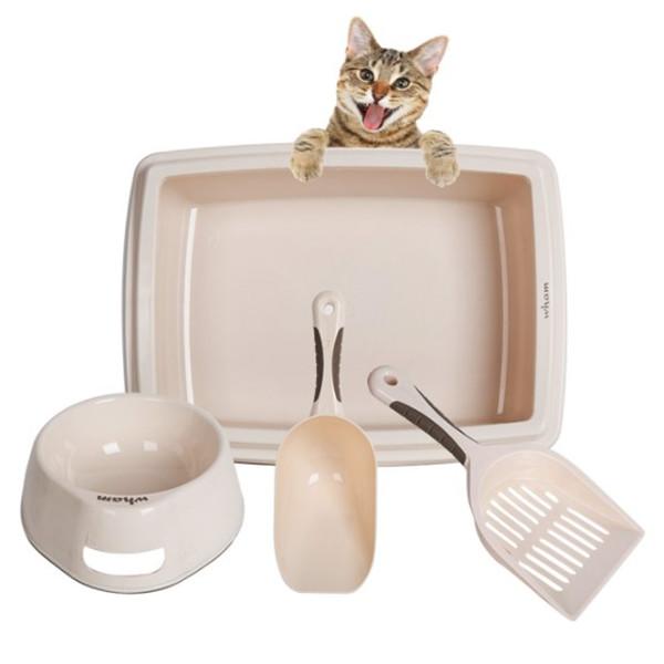 4 Pc. Cat Set 2